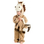 Corduroy Horse Toddler Costume: Brown, 4, Everyday, Unisex, Toddler