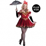 Circus Cutie Adult Plus Costume:3XL