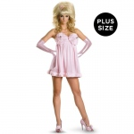 Austin Powers Sexy Fembot Deluxe Plus Adult Costume:X-Large (18-20)