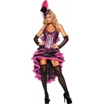 Burlesque Beauty Adult Costume:X-Small