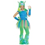 Blue Beasty Teen Costume:Teen (0-9)