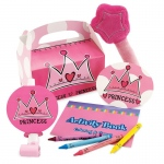 Birthday Princess Party Favor Box: