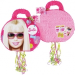 "Barbie All Doll'd Up 19"" Pull-String Pinata:"
