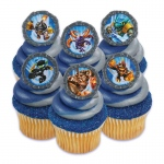 Skylanders Rings (12): Multi-colored, Birthday