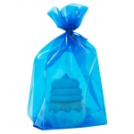 Blue Treat Bags (20): Blue, Birthday