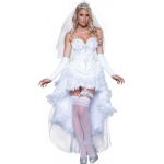 Blushing Bride Adult Costume: Small