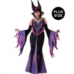 Dark Sorceress Plus Size Adult Costume:XXXL