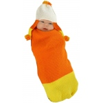 Candy Corn Baby Bunting:0-3 Months