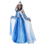 Adult Icelyn Winter Princess Costume:Small (4-6)