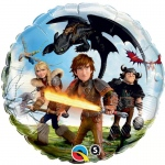 How to Train Your Dragon 2 - Foil Balloon: Multi-colored, Birthday