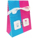 Bow or Bow Tie Favor Bags with Ribbon (12)