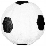 Soccer Ball Pinata: Black/White, Birthday