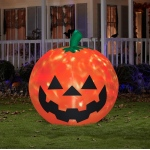 Fire & Ice Projection Pumpkin Large Airblown: