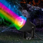 LED Black Spot Light w/Switch-Color Changing-Outdoor Strobing: