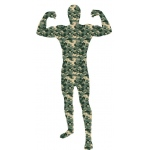 Adult Camoflauge Skinsuit:Medium