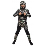 Camo Ninja Child Costume:Medium (8-10)