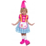 Gnome Girl Child Costume:Medium (8-10)
