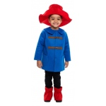 Blue Coat Bear Child Costume:Small (4-6)