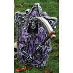 3D Skeleton Tombstone Reaper: