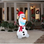 Large Frozen Olaf Outdoor Airblown Decoration: