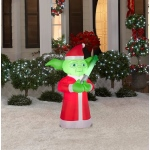 Small Star Wars Yoda Outdoor Airblown Decoration:
