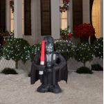Small Star Wars Darth Vader Airblown Decoration For Outside: