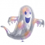 Holographic Ghost Jumbo Foil Balloon: