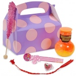 Birthday Girl Sweets Filled Party Favor Box: