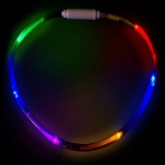 Multi Color LED Fiber Optic Necklace:One-Size