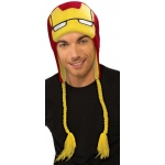 Adult Iron Man Fleece Hat:One-Size