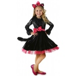 Deluxe Barbie Kitty Girls Costume  - X-Small (4):X-Small (4)