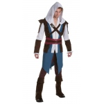Assassin's Creed: Edward Classic Adult Costume L: Large, Everyday, Adult