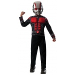 Ant-Man Kids Muscle Chest Shirt Kit - Small (4-6): Black/Red, Small, Everyday, Male, Child