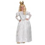 Alice Through the Looking Glass: White Queen Deluxe Child Costume M: Medium, Everyday, Child