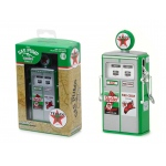"1954 Tokheim 350 Twin Gas Pump Texaco ""Sky Chief Fire-Chief"" Replica Vintage Gas Pump Series 2 1/18 Diecast Model by Greenlight"