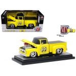 1956 Ford F100 Pickup Truck Mooneyes 1/24 Diecast Model Car by M2 Machines