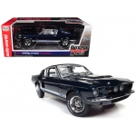 1967 Ford Shelby Mustang GT 500 2+2 Nightmist Blue Metallic Hemmings Muscle Machines and 50th Shelby Anniversary Limited Edition to 1002pc 1/18 Diecast Model Car by Autoworld