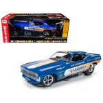 Don Schumacher's 1972 Plymouth Cuda Stardust (Bobby Rowe) Funny Car Limited Edition to 750pcs 1/18 Model Car by Autoworld
