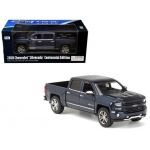2018 Chevrolet Silverado LTZ Centennial 100 Years Anniversary Edition Blue 1/27 Diecast Model Car by Motormax