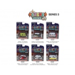 Hitched Homes Series 3, 6pc Trailer Set 1/64 Diecast Models by Greenlight