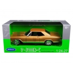 1965 Buick Riviera Gran Sport Gold 1/24 - 1/27 Diecast Model Car by Welly
