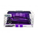 "1951 Mercury Purple with Flames ""Big Time Kustoms"" 1/24 Diecast Model Car by Jada"
