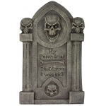 Hy Pocondriac Tombstone: One-Size, Everyday, Adult