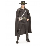 Zorro Deluxe Adult Costume XL: X-Large, Everyday, Adult