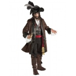 Caribbean Pirate Grand Heritage Adult Costume STD: Standard, Everyday, Adult