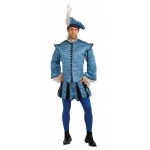 Hamlet Grand Heritage Adult Costume XL: X-Large, Everyday, Adult