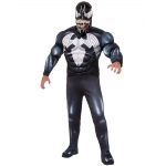 Marvel Venom Deluxe Adult Costume One-Size: One-Size, Everyday, Adult
