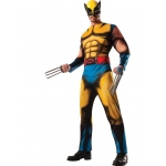 Wolverine Deluxe Adult Costume XL: X-Large, Everyday, Adult