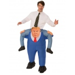Presidential Piggyback Costume - One Size: One Size, Dress Up, Adult