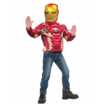 Imagine Iron Man Muscle Chest Shirt Set One Size